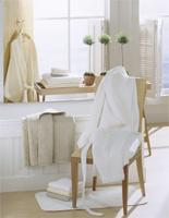 Monogrammed Valentino Light Weight Egyptian Cotton Waffle Robe