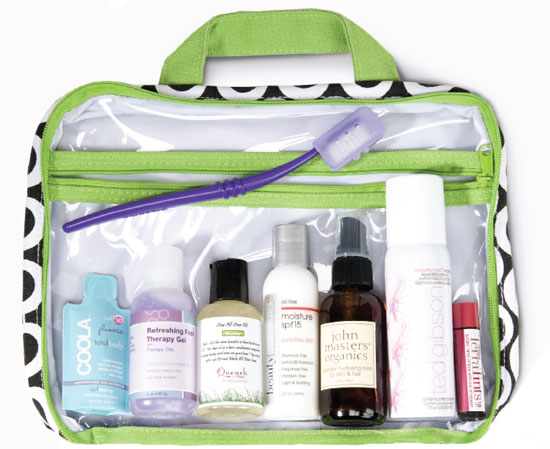 Carry On pregnancy safe beauty products