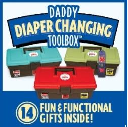 Win: Daddy Diaper Changing Toolbox Ends on June 30