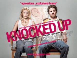 Knocked Up movie promotional poster