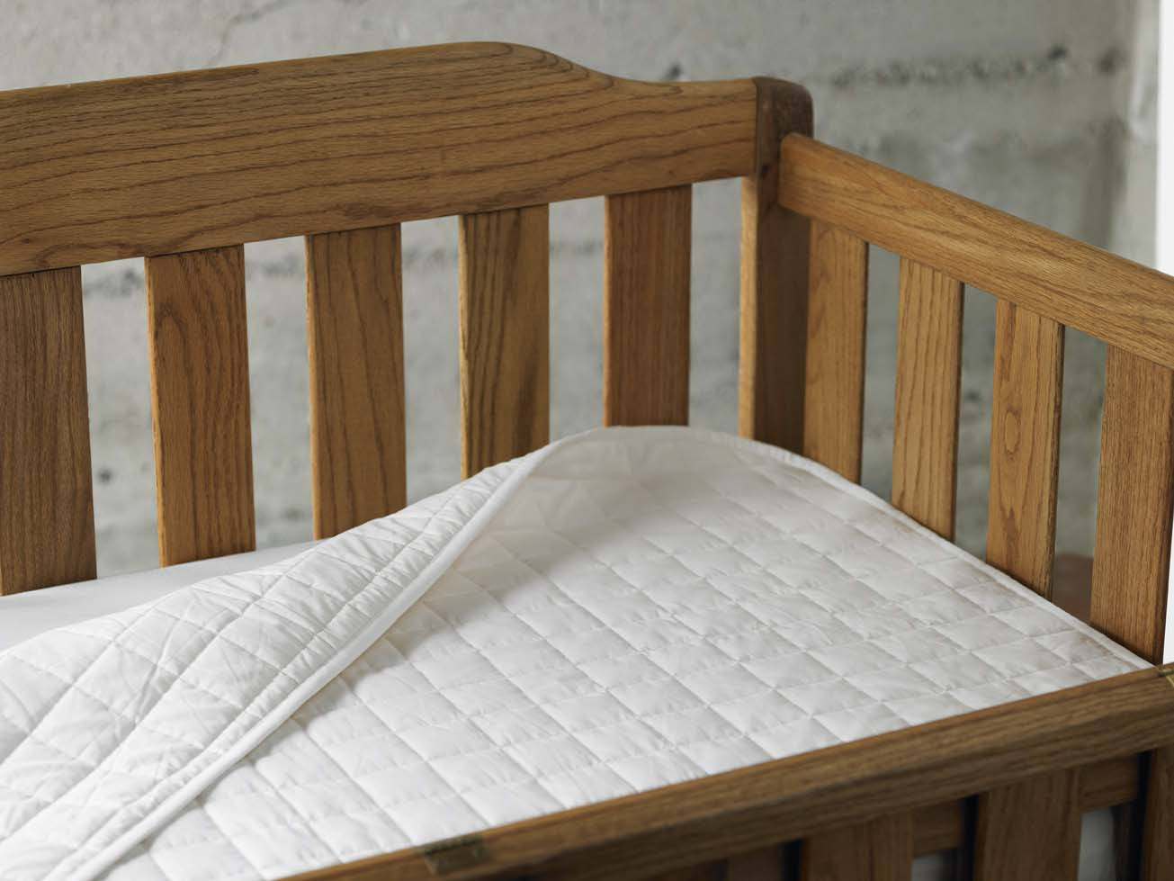 Coyuchi Crib Mattress Pad