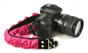 Capturing Couture camera strap