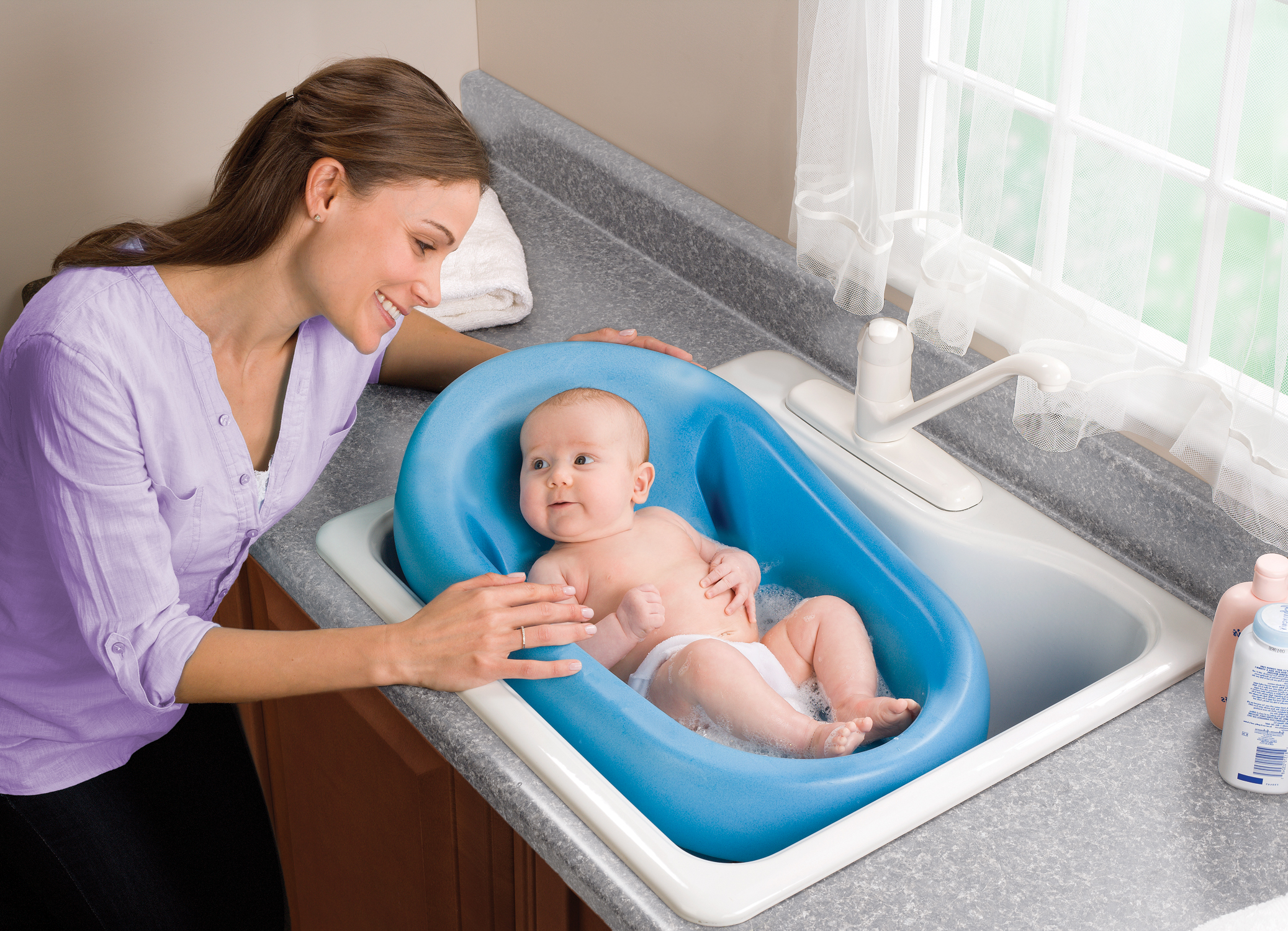 Cushy Cradler Baby Bath