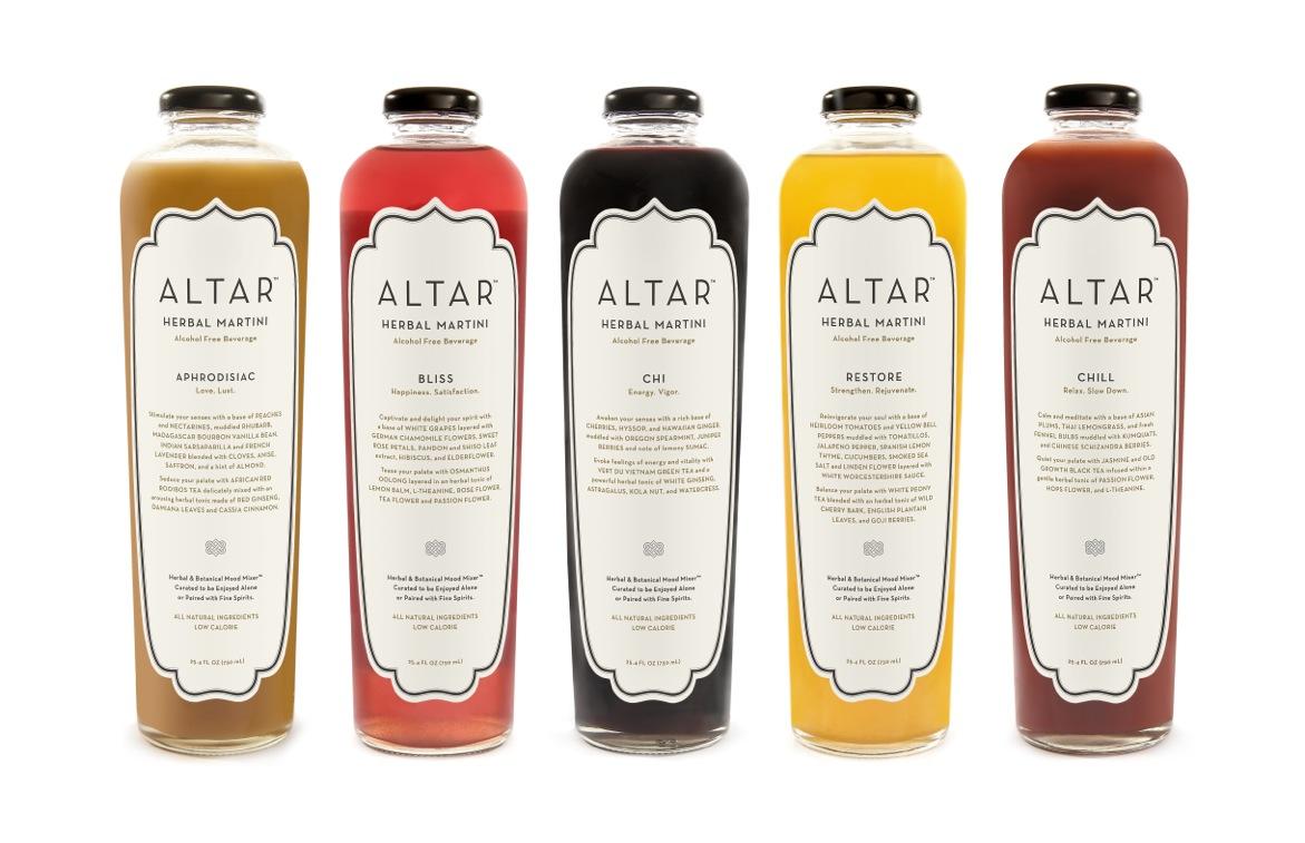 ALTAR Herbal Martinis