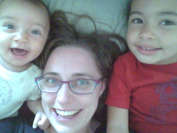 Julia Hill and Kids