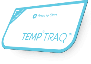 Temp-traq thermometer patch