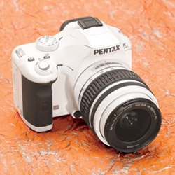 Pentax K2000 With Two Lens Kit in White
