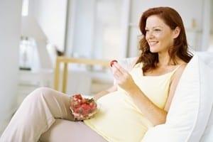 second trimester mom