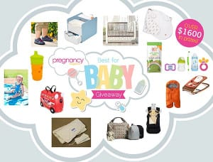 Best of Baby Giveaway prizes