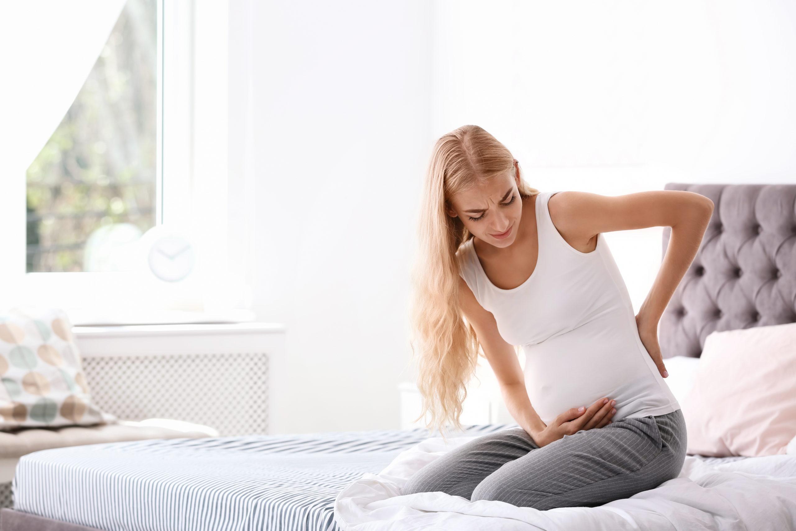 pregnant woman pain