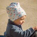 Slouchy beanie for baby