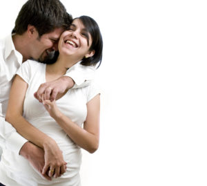 pregnant couple intimacy