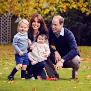 Kate Middleton and family