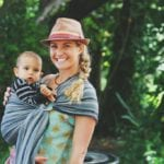 baby wrap and sling