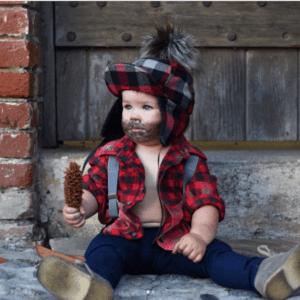 lumberjack baby halloween costume