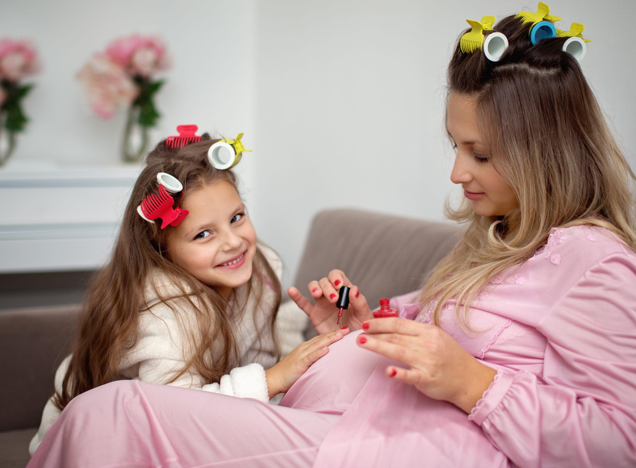 mani-pedi during pregnancy